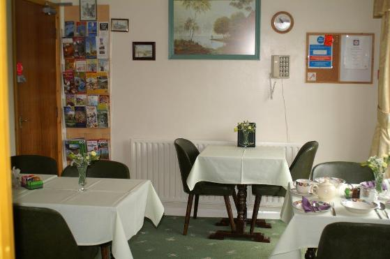 dining room at y not guest house b and b in boston lincolnshire